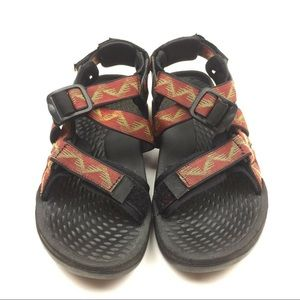 Teva Copper Red Camping Outdoor sandals women's 7